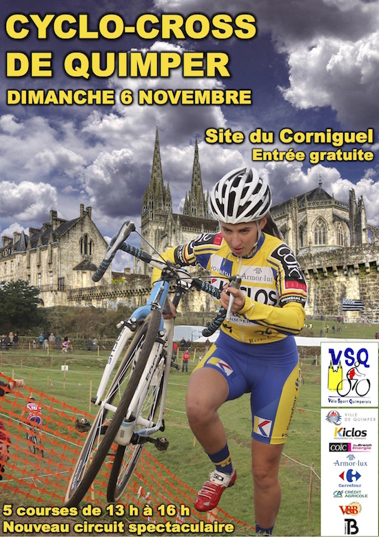 Affiche cyclo-cross